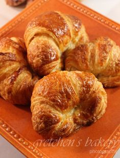 Learn the professional way to make Croissants at home! Gretchen's Bakery teaches you an in depth step by step tutorial for How to Make Croissants