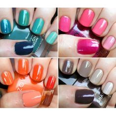 different sets of ombre nails