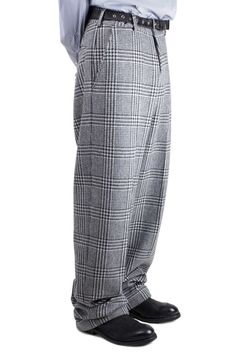 E. Tautz - Terry trousers in check // AW15 // Shop at Sprmrkt Amsterdam