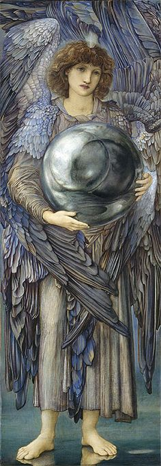 """""""The Days of Creation: The First Day"""" by Sir Edward Burne-Jones (c.1870/76)"""