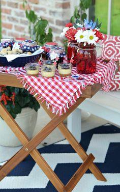 Patriotic Porch Party