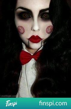 Pas de costume pour Halloween? Un bon maquillage suffit