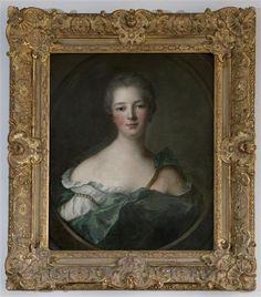 After Nattier, Madame de Pompadour, 1748, Oil on canvas, 66 x 53 cm (Versailles)