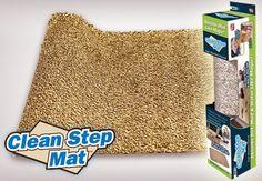 Clean Step Mat mikroszálas lábtörlő a tiszta és száraz padlóért - 3.290 Ft-ért