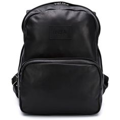 Hood By Air hooded backpack ($2,135) ❤ liked on Polyvore featuring bags, backpacks, black, backpacks bags, hood by air, day pack backpack, rucksack bag and knapsack bags