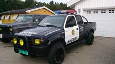 My old sheriff HiLux