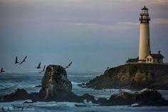 Pigeon Point Lighthouse , USA