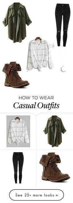"""""""Casual"""" by emgraccee on Polyvore featuring River Island and Accessorize"""