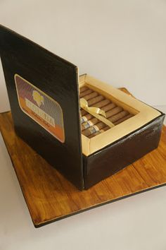 Amazing Cigar Box Cake