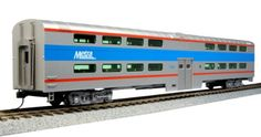 Kato HO Scale Pullman Bi-Level Coach Car Chicago Metra 7836 (New Road Number) New Body Style... Prototype Information: The Bi-Level 'Gallery' commuter car continues to be a favorite design of many com...
