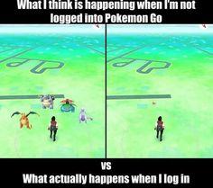 Pokémon Go || Otaku meme