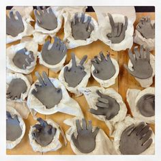 Cool Hand Sculptures: Clay Every Day