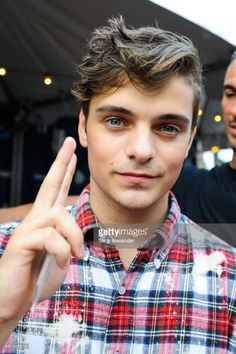 DJ Martin Garrix attends the event honoring Steve Aoki with a plaque for his single 'Just Hold On' at 1 Hotel & Homes South Beach on March 23, 2017 in Miami Beach, Florida.