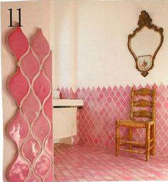 Ideas Bath Room Tiles Moroccan Beautiful For 2019 Bathroom Inspiration, Interior Inspiration, Moroccan Bathroom, Moroccan Tiles, Moroccan Lanterns, Moroccan Decor, Turkish Tiles, Boho Bathroom, Modern Bathroom