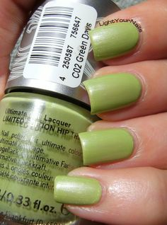 Catrice Hip Trip Green Days #nails #nailpolish #green #catrice