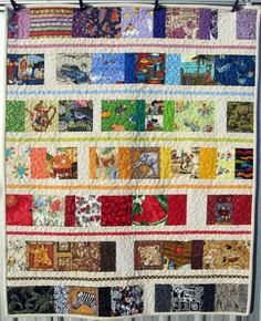 Rainbow I Spy Cot Quilt | A Little