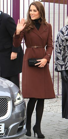 Catherine, Duchess of Cambridge, visits Brink trade Co, February 2012