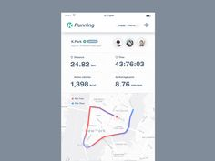 Case Study : Running App animation Press L to like. please don't forget to… Mobile Ui Design, App Ui Design, User Interface Design, Web Design, Ios, Health App, Ui Web, Ui Inspiration, Interactive Design