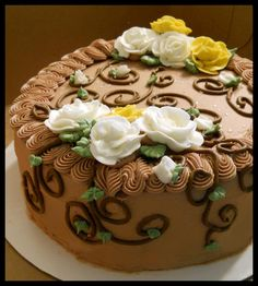1000+ images about Cake-Roses on Pinterest Buttercream ...