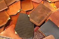 Davis Leatherworks - Business Card Sleeve Grab Bag - $5.00 Each  http://store.davisleatherworks.com