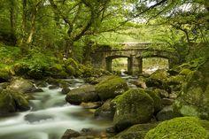 Shaugh Prior Bridge, Dartmoor by markgeorgephotography.co.uk, via Flickr