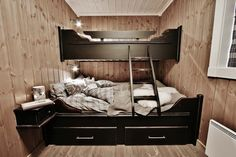 Home Room Design, House Rooms, Bunk Beds, Cottage, Cabin, Furniture, Houses, Home Decor, Homes