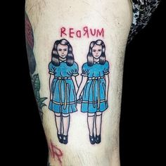 Shinning twinsister tattoo