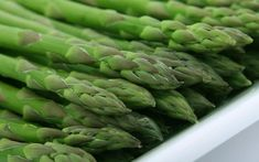 Asparagus Powerful Health Benefits. Asparagus is one of the most nutritionally balanced plant-derived foods. Low in fat, cholesterol, and sodium, asparagus