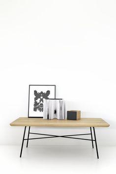 Disc coffe table rectangular - Universo Positivo