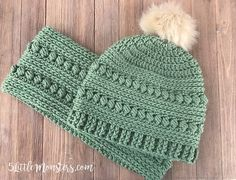 4ddc6605983 Ravelry  Bead Stitch Hat pattern by Erica Dietz Crochet Crafts
