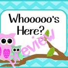 Owl and Chevron themed bulletin board Attendance Board, First Page, Bulletin Boards, Owls, School Ideas, Chevron, Goodies, Classroom, Printable