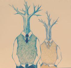 Dandelion Gold - Tree men