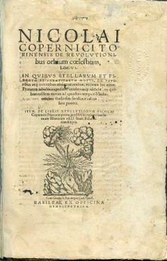 Copernicus' De revolutionibus, 2nd ed., 1566