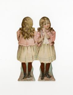 86.7483: PROGRESSIVE doll | paper doll | Paper Dolls | Dolls | National Museum of Play Online Collections | The Strong