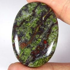 66.00Cts. GORGUES NATURAL BLOOD RED DRAGON LITE OVAL CABOCHON LOOSE GEMSTONES #JAIPURGEMS