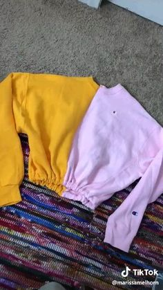 Diy Edgy Clothes, Diy Clothes Videos, How To Make Clothes, Sewing Clothes, Custom Clothes, Diy Moda, Thrift Store Diy Clothes, Trash To Couture, Shirt Makeover