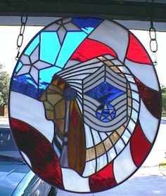 Flag Chief by stainedglassmaster. From Delphi's Artist Gallery