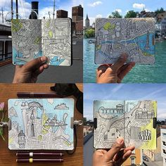 Moleskine City map d