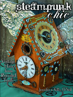 Steampunk Chic: Vintage Flair from Recycled Finds. Our book is loaded with fun and funky steampunk crafts and step-by-step how-tos!