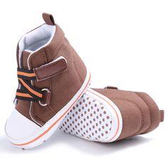 E & Bainel Primeiro Walkers Algodão Tornozelo Botas Sapatos de Bebê Da Lona Macio de Alta Sapatos Berço Sneaker Para A Primavera Outono Inverno