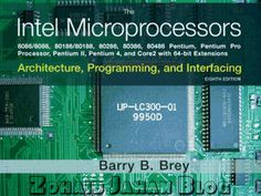 Free download PDF of Intel Microprocessors by Barry B. Brey 8th edition - electrical, electtronics, mechanical, mechatronics engineering book