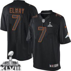 John Elway Elite Jersey-80%OFF Nike Impact John Elway Elite Jersey at Broncos Shop. (Elite Nike Men's John Elway Black Super Bowl XLVIII Jersey) Denver Broncos #7 NFL Impact Easy Returns.