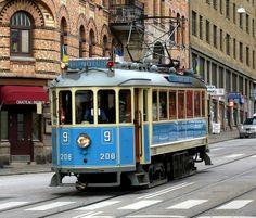 A Streetcar Named Desire, Gothemburg, Svezia - Gothenburg Archipelago, Travel Around The World, Around The Worlds, Art Transportation, Street Run, Baltic Cruise, Streetcar Named Desire, Commuter Train, S Bahn