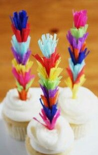 These fun Cinco de Mayo party ideas are perfect for your next fiesta! Cinco de Mayo is just around the corner, and I love a great fiesta! These fun party ideas are perfect for your Deco Cupcake, Cupcake Toppers, Cupcake Ideas, Paper Cupcake, Mexican Fiesta Party, Rainbow Cupcakes, Fun Cupcakes, Mexican Cupcakes, Mexican Desserts