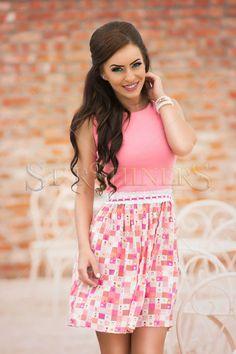 StarShinerS Spiritual Rosa Dress