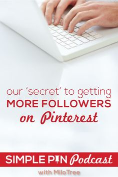 Want more followers on Pinterest? Learn how to not only increase your followers but to increase page views!