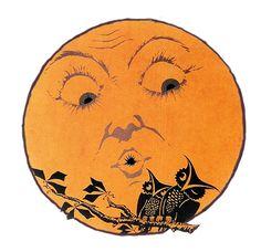 ImagiMeri's Creations has some fantastic vintage seasonal images : black cats, moons, owls and witches  http://imagimeris.blogspot.com/