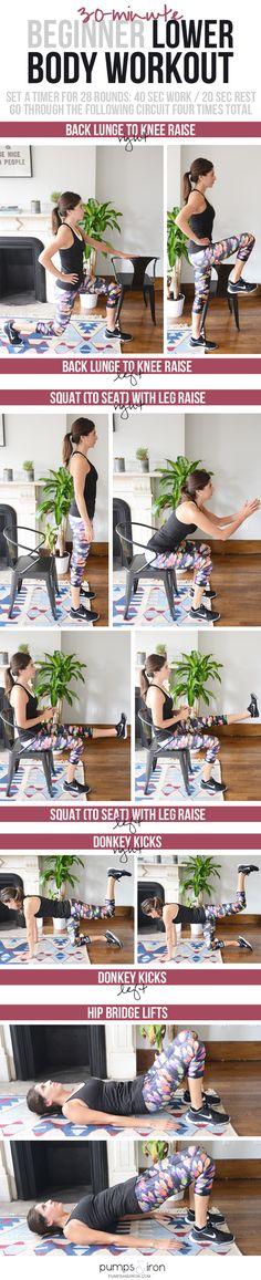 Beginner Legs & Butt Workout