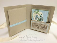Love is Kindness Notecard Folder and Cards :: Confessions of a Stamping Addict Lorri Heiling