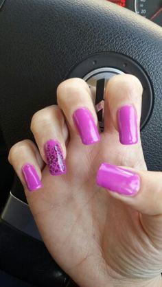 Purple and print